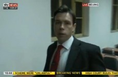 Sky News reporter broadcasts arrest live on TV