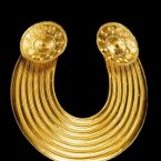 Gleninsheen Gorget (Image via The Royal Irish Academy)