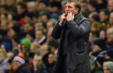 Missing Europe could be a 'blessing', says Brendan Rodgers