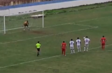 Is this the worst Brazilian penalty kick of all time?