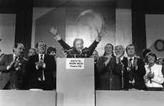 Fianna Fáil's 1980 Ard Fheis… with added Larry Gogan (and fancy raffle prizes)