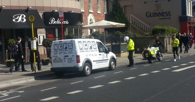 Clamper vs. Garda Pic of the Day