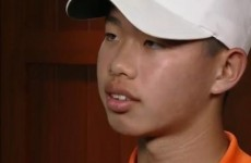 WATCH: 14-year-old Guan gives classy interview after controversial one-stroke penalty