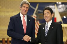 Kerry in Japan to discuss North Korea