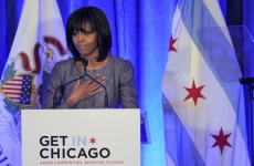 """My husband is fighting as hard as he can"" – Michelle Obama challenges politicians on guns"