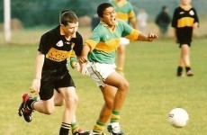 Your Simon Zebo as a Young GAA Star Pic of The Day