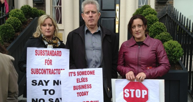 'I didn't do anything wrong' – Meath man protests auction of family business