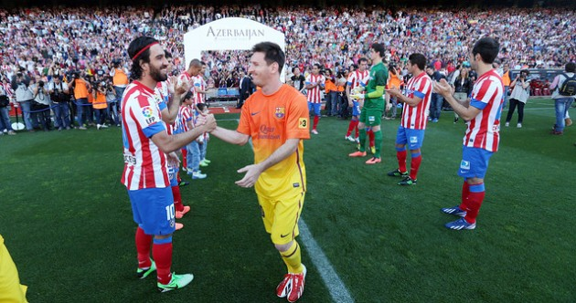 Barca kick-start La Liga title party with Atletico comeback