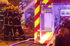 Two firefighters injured in fire at derelict house