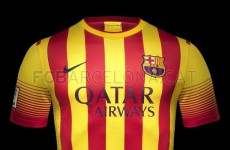 Barcelona's new away kit looks like something Roy of the Rovers would wear