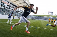 MLS keeper heads the ball into his own net… with Robbie Keane lurking