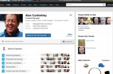 Someone's only gone and created a fake Alan Curbishley LinkedIn profile