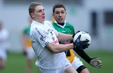 5 U21 players to start in Kildare senior side against Offaly