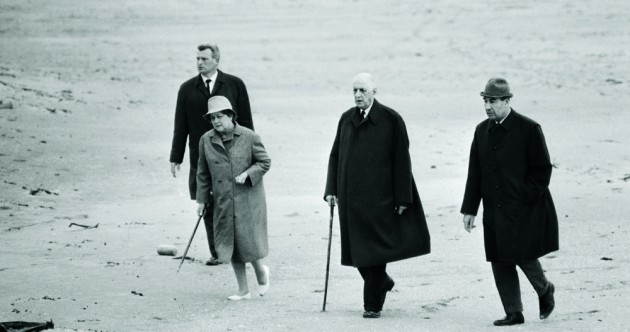 Casual snaps show Charles de Gaulle's Irish holiday after resignation