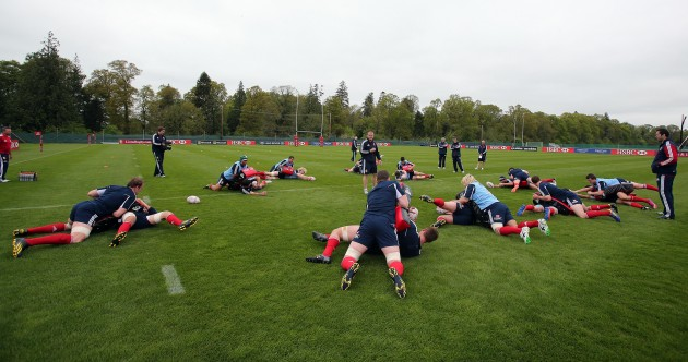 In pics: The Lions training in Maynooth this morning