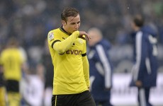 Dortmund star Goetze loses fitness fight ahead of the European decider