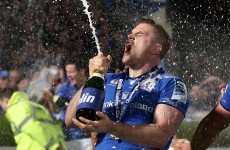 Stiff-neck dressing room jigs and champagne showers for cup-winning Leinster