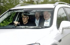 David Moyes shows up for his first day at Man United (and look who he's with)