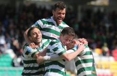 Rovers rout Drogheda with a Magnificent 7 in Setanta Cup final