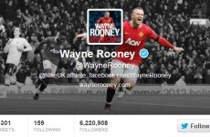 Wayne Rooney has deleted 'Manchester United player' from his Twitter bio