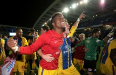 Zaha double fires Palace into play-off final