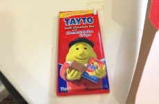 There are just 24 Tayto chocolate bars in the whole of Australia…