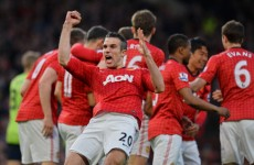 Van Persie expects United success to continue under Moyes