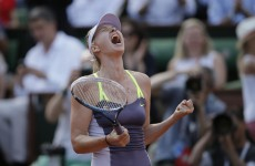 Super slow-mo replay makes you feel the force in Sharapova shot