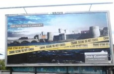 Irish Examiner editor defends Limerick crime billboard