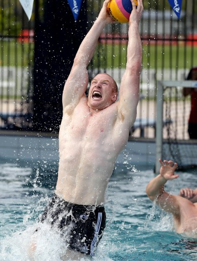 You try telling Paul O'Connell that water polo is 'just a bit of fun'