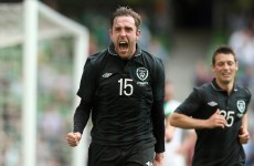 Richard Keogh scores on his first start for Ireland